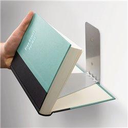 Полка книжная Conceal малая белая, Umbra