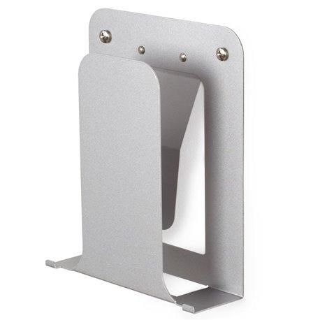 Полка книжная Conceal вертикальная никель