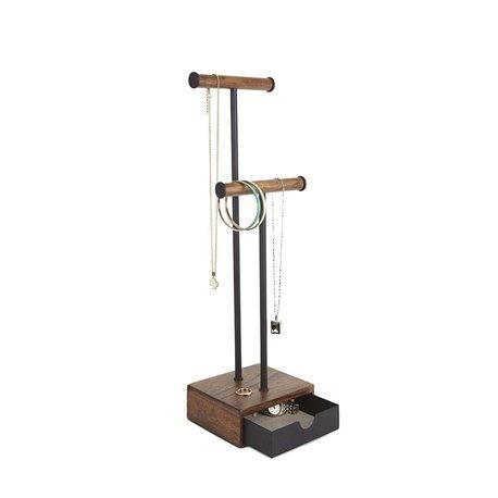 Органайзер для украшений Pillar высокий чёрный