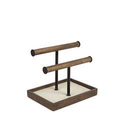 Органайзер для украшений Pillar низкий чёрный-орех, Umbra
