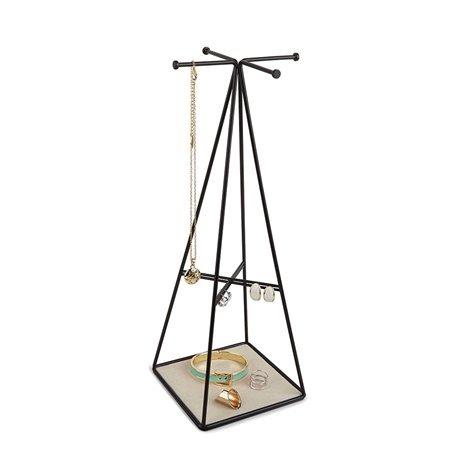 Органайзер для украшений prisma высокий чёрный