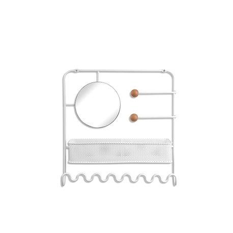 Органайзер для украшений надверный estique белый