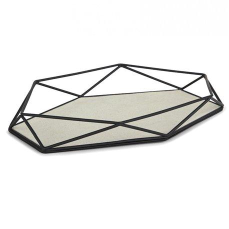 Органайзер-поднос для украшений prisma чёрный