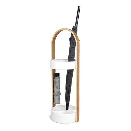 Подставка для зонтов Umbra Hub белая