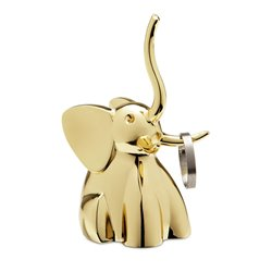Подставка для колец zoola слон латунь