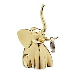 Подставка для колец Zoola слон латунь, Umbra