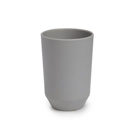 Стакан для ванной Umbra Fiboo серый