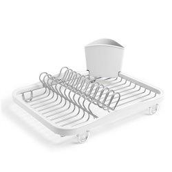 Сушилка для посуда sinkin белый/никель