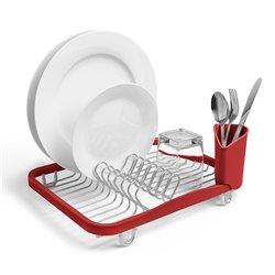 Сушилка для посуды Umbra Sinkin красная