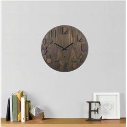 Часы настенные Shadow орех, Umbra