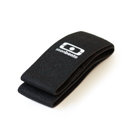 Резинка для ланч бокса MB Square черная