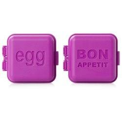 Пресс-формы для яйца 2 шт. фуксия, Monbento