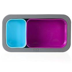 Форма для выпечки под ланч-бокс mb original фуксия+голубая