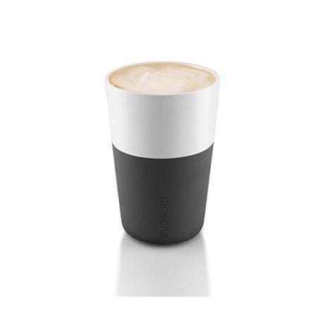 Чашки для латте 2 шт 360 мл черные, Eva Solo