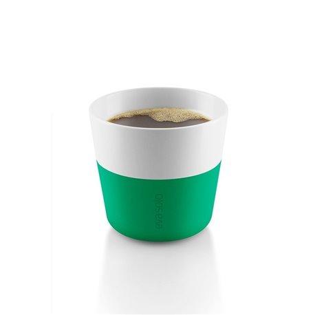 Чашки для лунго 2 шт 230 мл ярко-зелёные