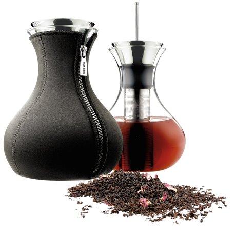 Чайник заварочный tea maker в неопереновом чехле 1 л чёрный