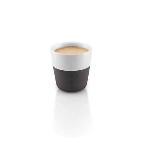 Чашки для эспрессо 2 шт 80 мл черные, Eva Solo