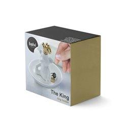 Подставка для колец The king белая, Balvi