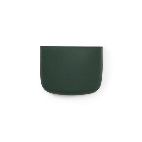 Органайзер настенный pocket 2 зелёный