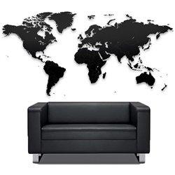 Пазл Mimi «Карта мира» черная 100х60 см