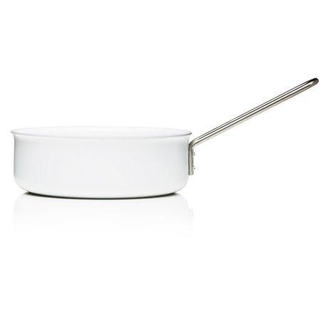 Сотейник с керамическим покрытием white line 24 см