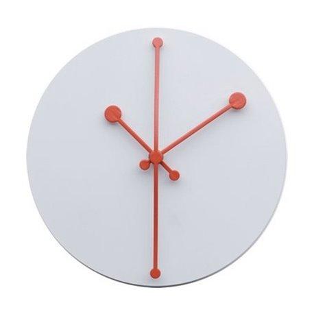 Часы настенные dotty белые
