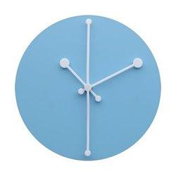 Часы настенные Dotty голубые, Alessi