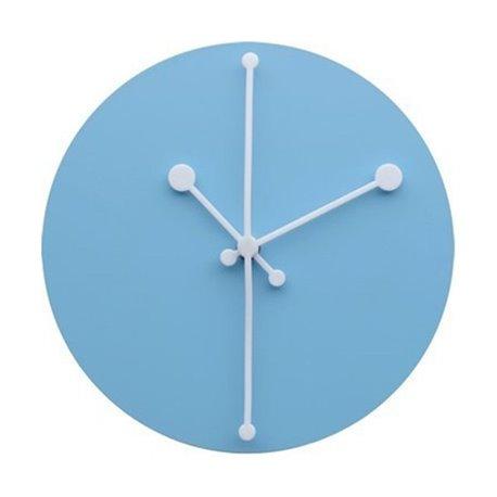 Часы настенные dotty бирюзовые