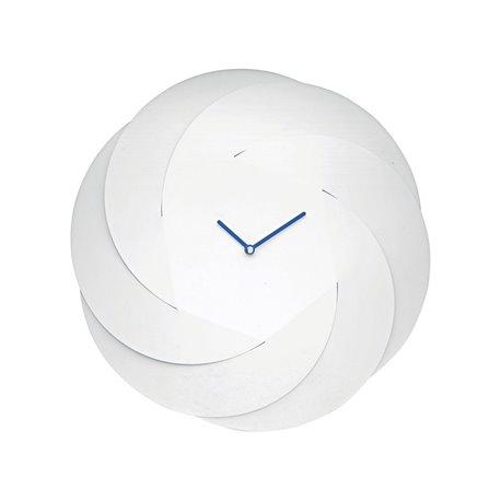 Часы настенные Alessi Infinity белые
