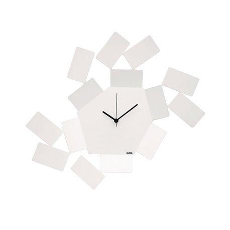 Часы настенные Stanza Scirocco белые