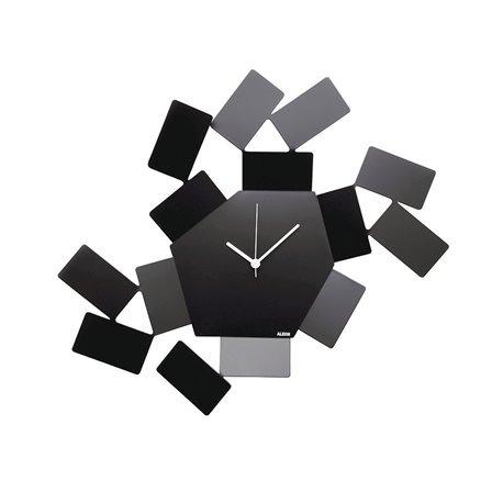 Часы настенные Stanza Scirocco черные