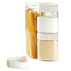 Контейнеры для сыпучих продуктов Tricon 3 шт. белые, Umbra