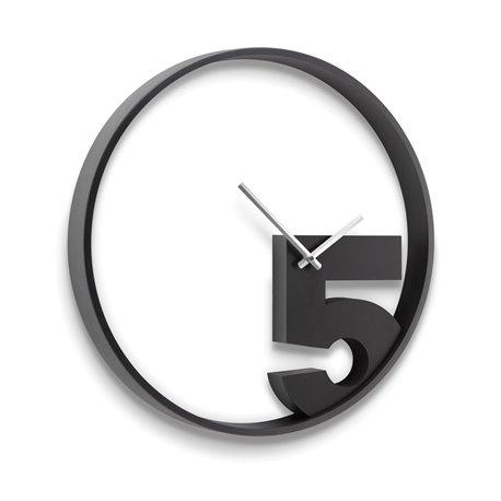 Настенные часы Umbra Take 5 черные