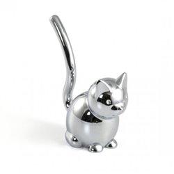 Подставка для колец Zoola кошка хром, Umbra