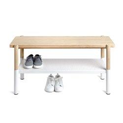 Скамейка с подставкой для обуви Umbra Promenade