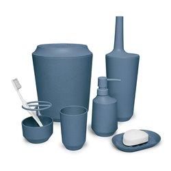 Стакан для ванной Fiboo дымчато-синий, Umbra