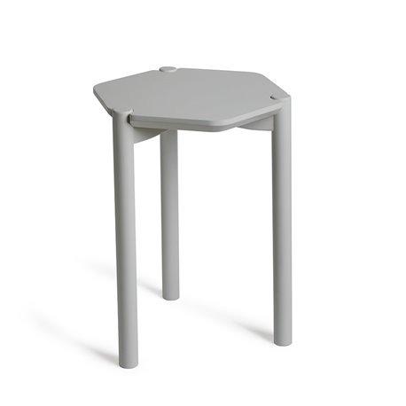 Столик журнальный Hexa серый