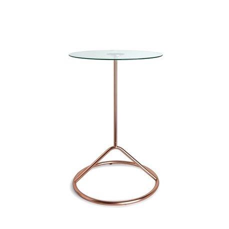 Столик кофейный Umbra Loop медь