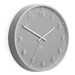 Часы настенные Umbra Pace серые