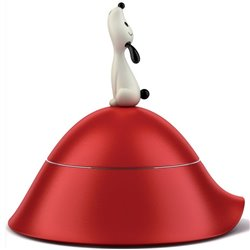 Миска для собаки Lula красная, Alessi