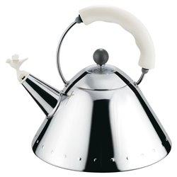 Чайник со свистком белый