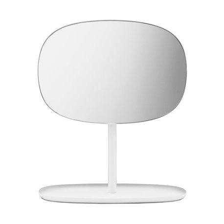 Зеркало настольное Flip белое