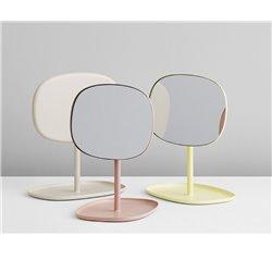 Зеркало настольное Flip розовое, Normann Copenhagen
