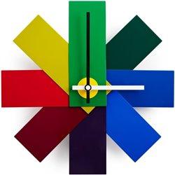Часы настенные Watch Me разноцветные, Normann Copenhagen