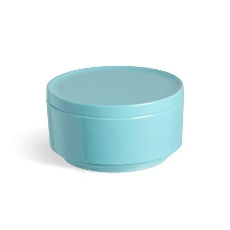 Контейнер для хранения step ярко-голубой