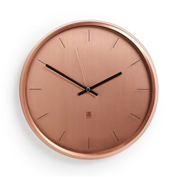 Часы настенные Meta медь