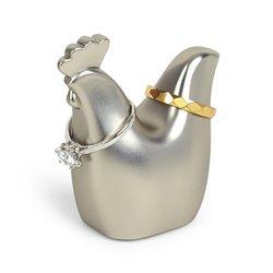 Подставка для колец Anigram петушок никель, Umbra
