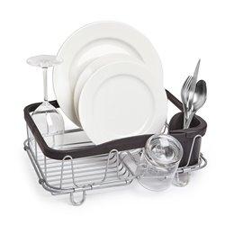 Сушилка для посуды Sinkin чёрный/никель, Umbra
