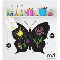Меловая наклейка в детскую комнату Butterfly