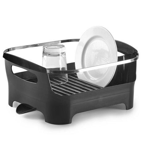 Сушилка для посуды basin серая